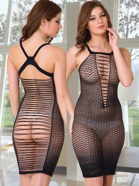 Emay Dikişsiz Erotik Elbise 5081