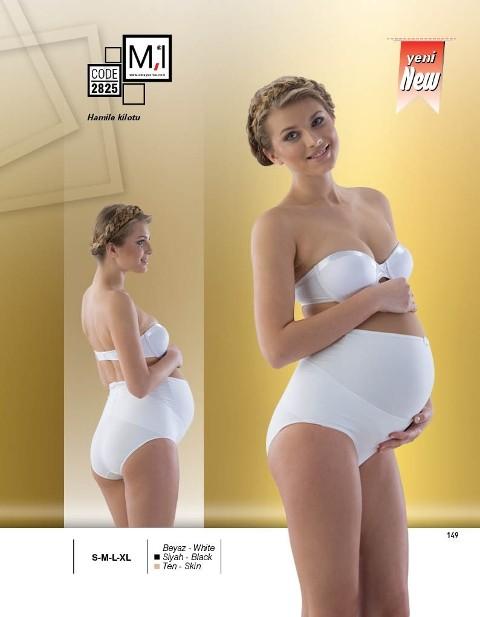 Hamile Külot Emay Karın Destekleyici Hamile Slip 2825