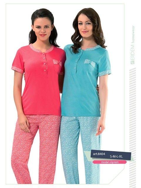 Erdem 8404 Bayan Pijama Modal Süprem