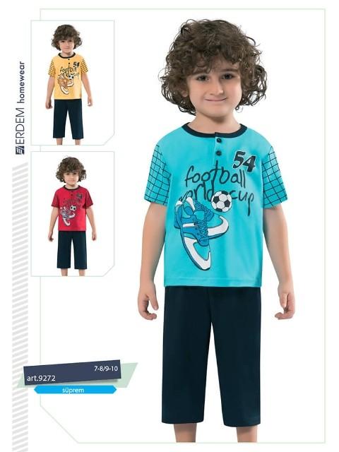 Erdem 9272 Erkek Çocuk Pijama Süprem