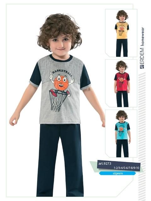 Erdem 9273 Erkek Çocuk Pijama Süprem