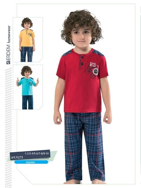 Erdem 9275 Erkek Çocuk Pijama Süprem