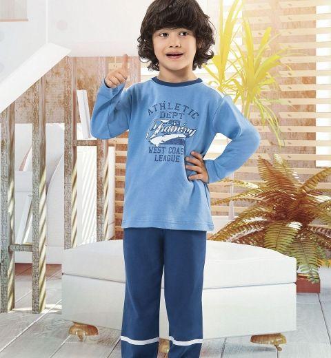Erkek Çocuk Pijama Takım Hmd 5160