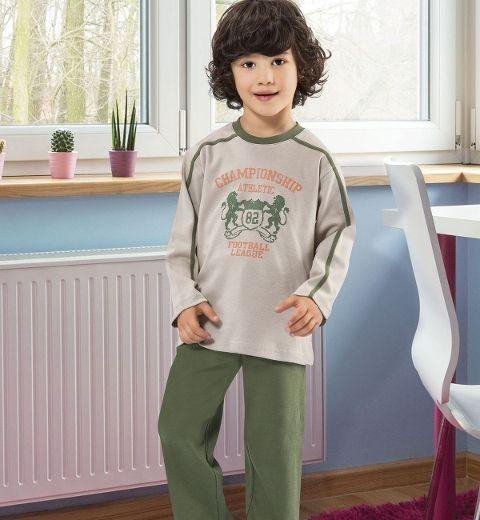 Erkek Çocuk Pijama Takım Hmd 5162