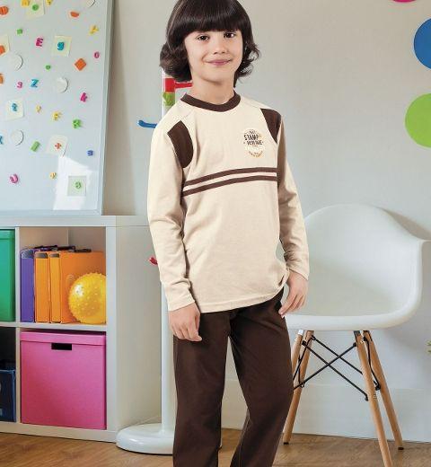 Erkek Çocuk Pijama Takım Hmd 5348