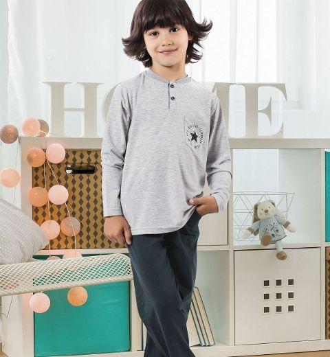 Erkek Çocuk Pijama Takım Hmd 5355