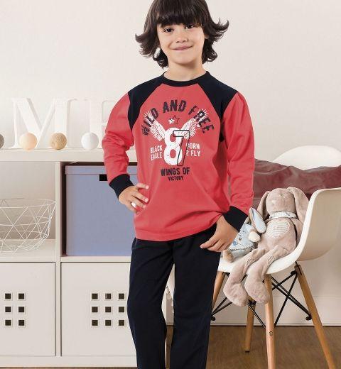 Erkek Çocuk Pijama Takım Hmd 5356
