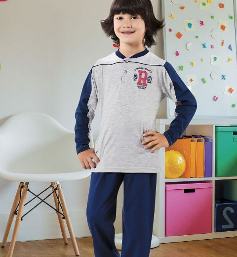 Erkek Çocuk Pijama Takım Hmd 5357