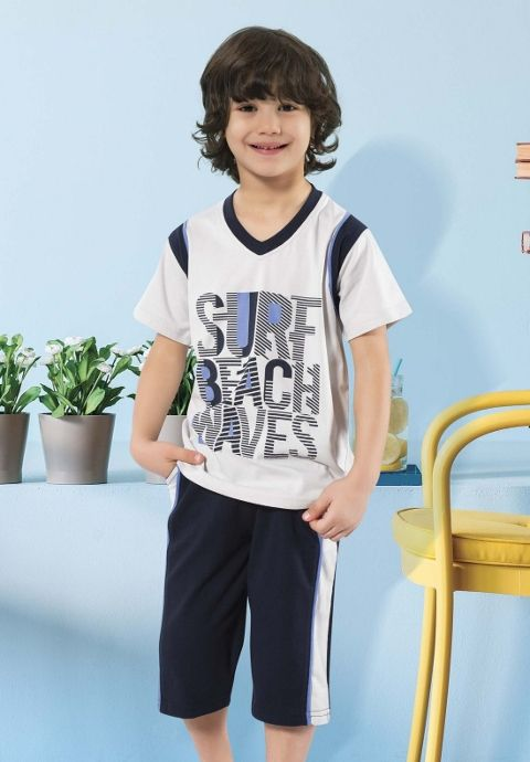 Erkek Çocuk Pijama Takımı HMD 5331