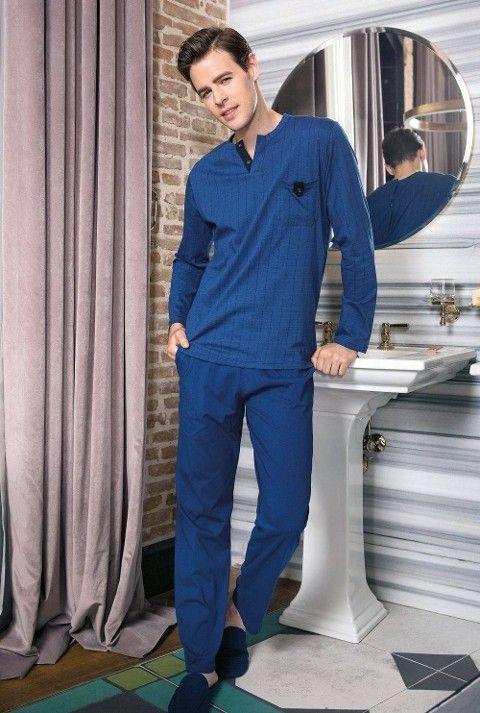 Erkek Pijama Takımı Süprem 2Li Takım Yeni İnci EPJ634