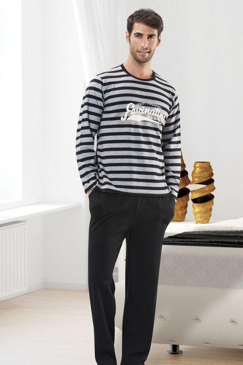 Erkek Pijama Takımı Hmd E30009