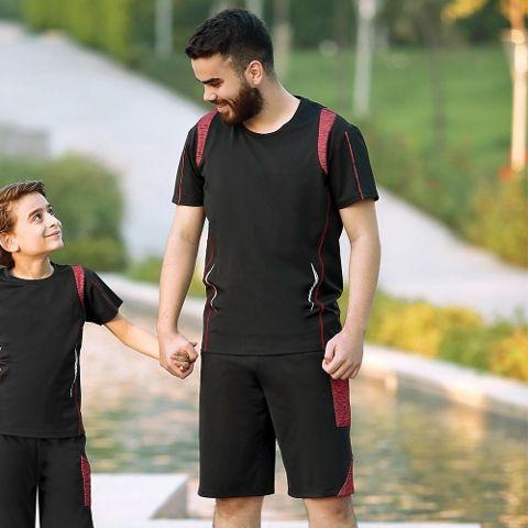 Erkek T-Shirt Şort Takım Gallipoli 9643