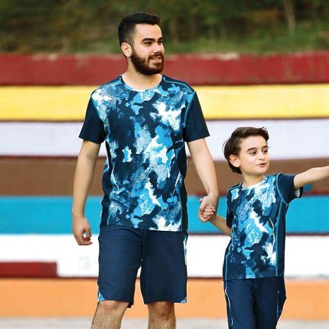Erkek T-Shirt Şort Takım Gallipoli 9673