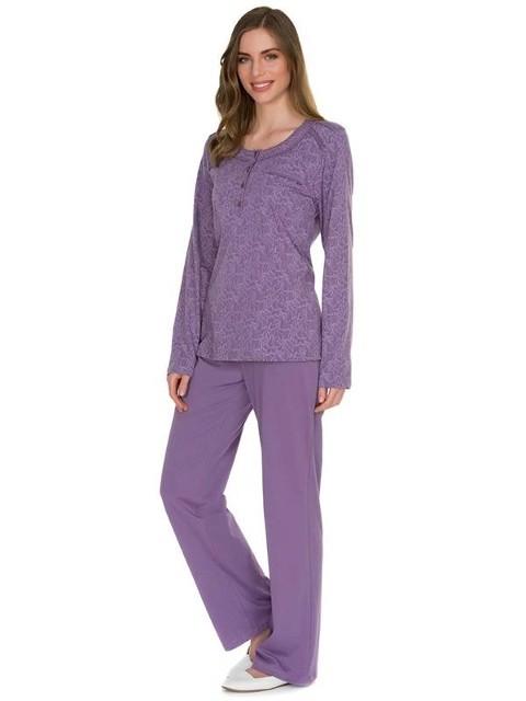 Eros Modal O Patlı Emprime Bayan Pijama Takımı