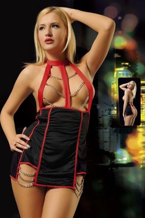 Erotica Zincirli Fantezi Elbise