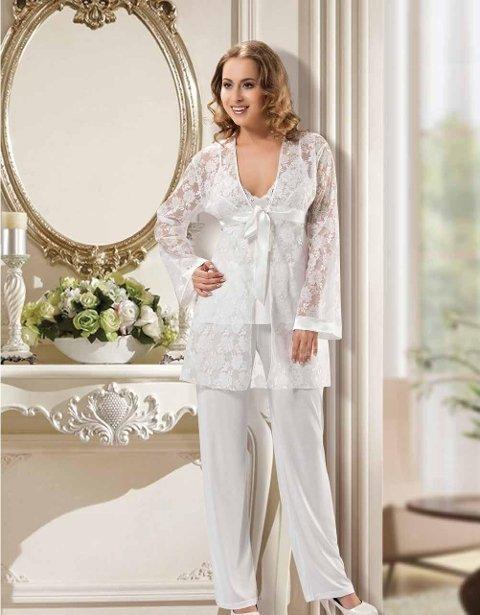 Fantazi 3 lü Pijama Takım XSES 2160