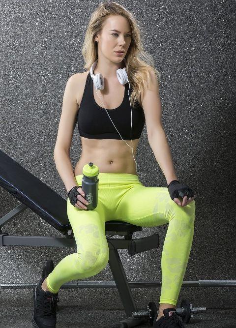Fitness Sütyen Tayt Takım Naymphe 7738