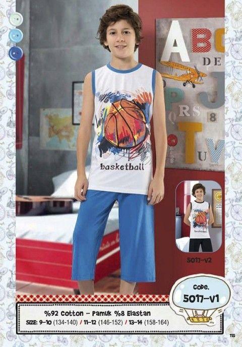 Hmd Erkek Çocuk Basketbol Kapri Takımı 5017