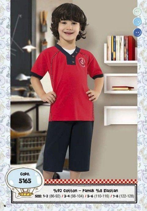 Hmd Erkek Çocuk Kapri Takım 5165