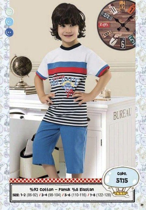 Hmd Erkek Çocuk Kapri Takım 5175