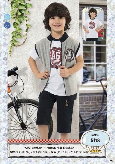 Hmd Erkek Çocuk Kapri Takım 5178