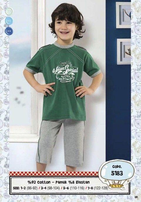 Hmd Erkek Çocuk Kapri Takım 5183