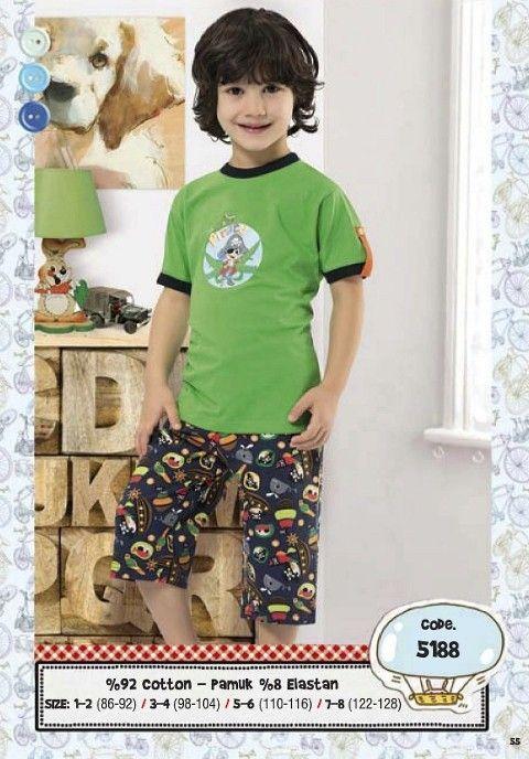 Hmd Erkek Çocuk Kapri Takım 5188