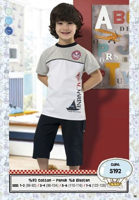 Hmd Erkek Çocuk Kapri Takım 5192