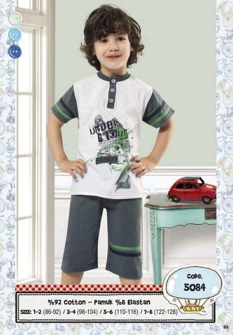 Hmd Erkek Çocuk Kapri Takımı 5084