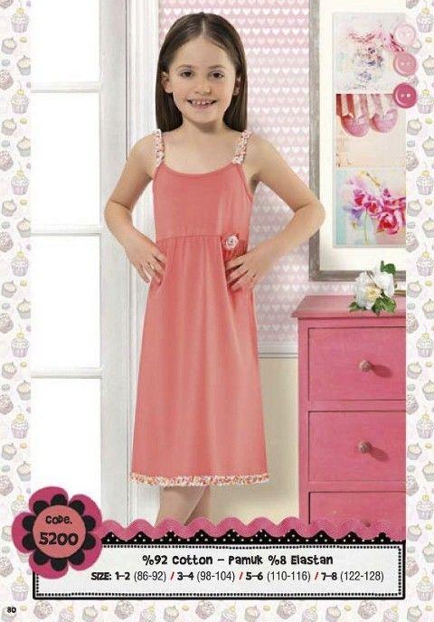 Hmd Kız Çocuk Elbise 5200