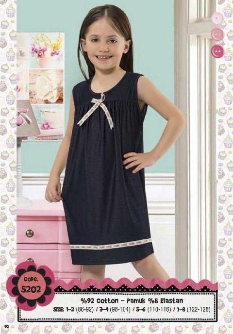 Hmd Kız Çocuk Elbise 5202