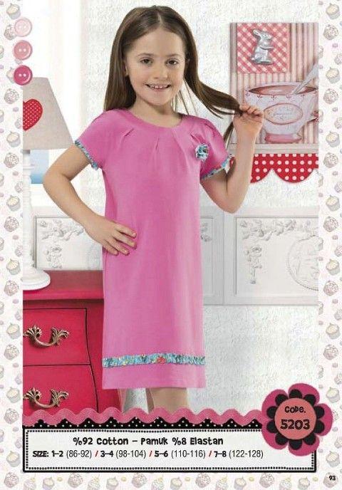 Hmd Kız Çocuk Elbise 5203