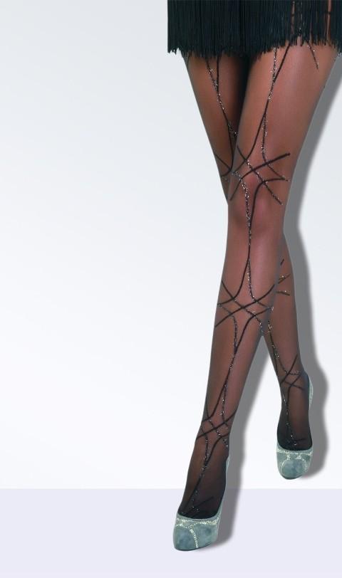 Daymod İşıl Desenli Külotlu Çorap