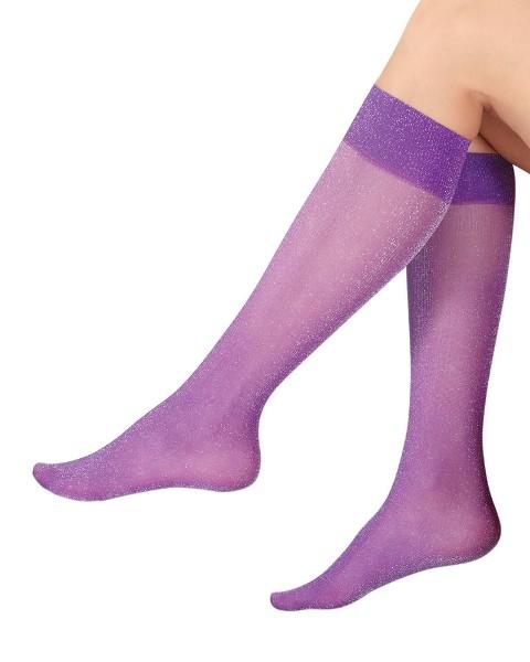 Italiana Pearl Simli Dizaltı Çorap 1199