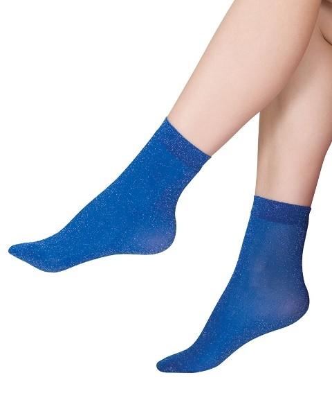 Italiana Pearl Simli Soket Çorap 1198