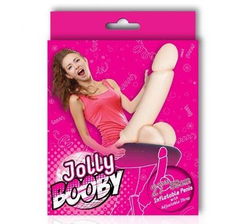 Jolly Booby Şişirilebilir Takma Mega Penis