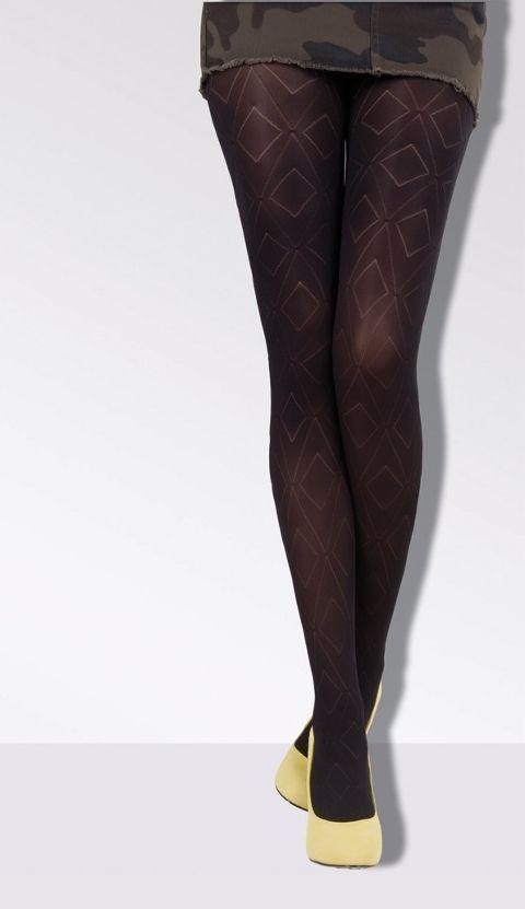 Daymod Kamelya Desenli Külotlu Çorap