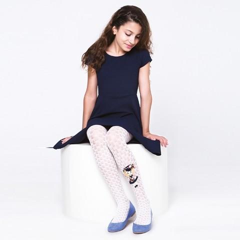 Daymod Karya Aksesuarli Çocuk Külotlu Çorap