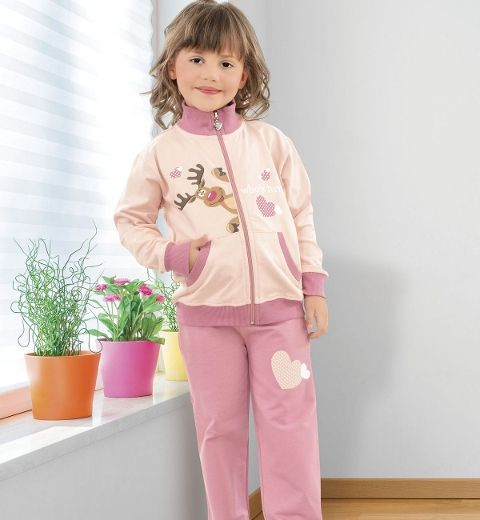 Kız Çocuk Pijama Takım Hmd 5039