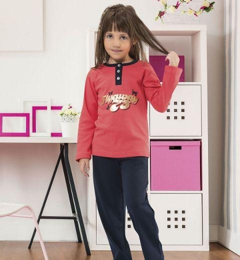 Kız Çocuk Pijama Takım Hmd 5122