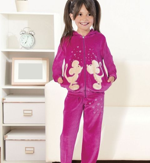 Kız Çocuk Pijama Takım Hmd 5259