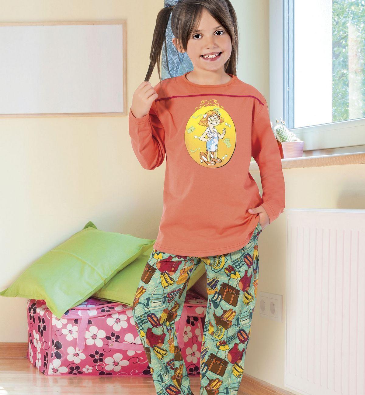 Kız Çocuk Pijama Takım Hmd 5263