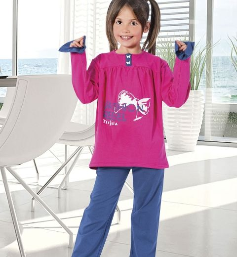Kız Çocuk Pijama Takım Hmd 5269