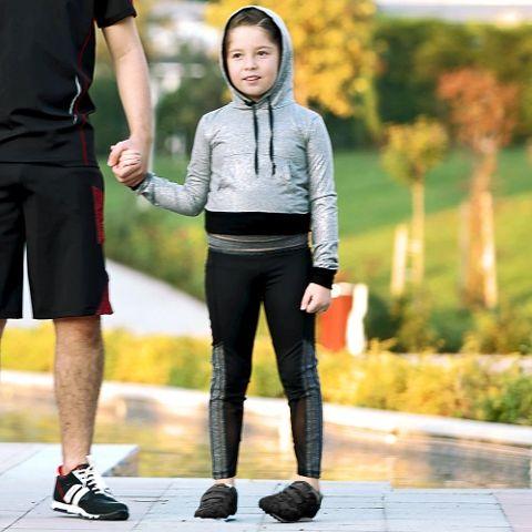 Kız Çocuk Sweatshirt Atlet Tayt Takım Gallipoli 19614