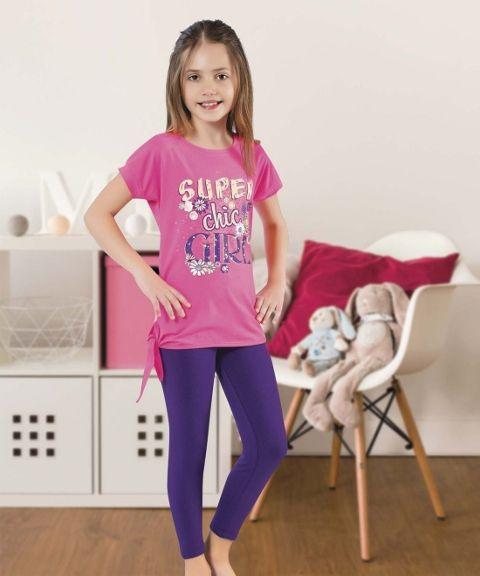 Kız Çocuk Tayt Takım HMD 6055