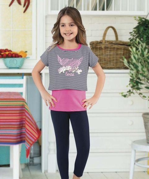 Kız Çocuk Tayt Takım HMD 6063