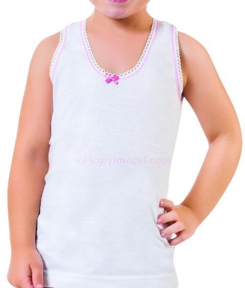 Kız Üçlü Geniş Askılı Atlet Öztaş F4053