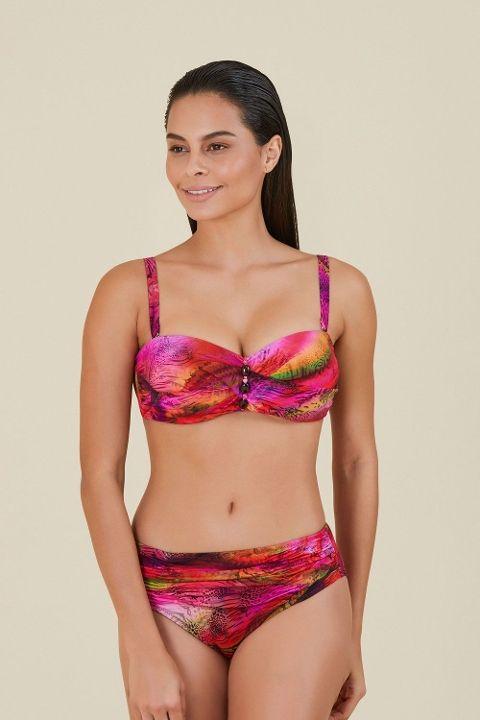 Büyük Beden Bikini Kom Carlet Bikini 01MB86391