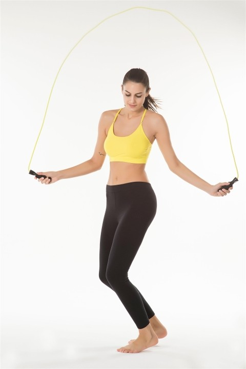 Fitness Spor Tayt Kom Fit Siyah Fitness Tayt