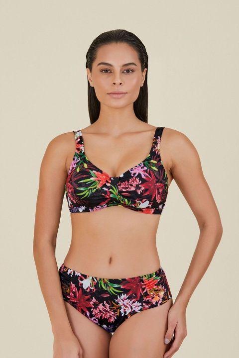 Büyük Beden Bikini Kom Hawayen Bikini 01MB86321